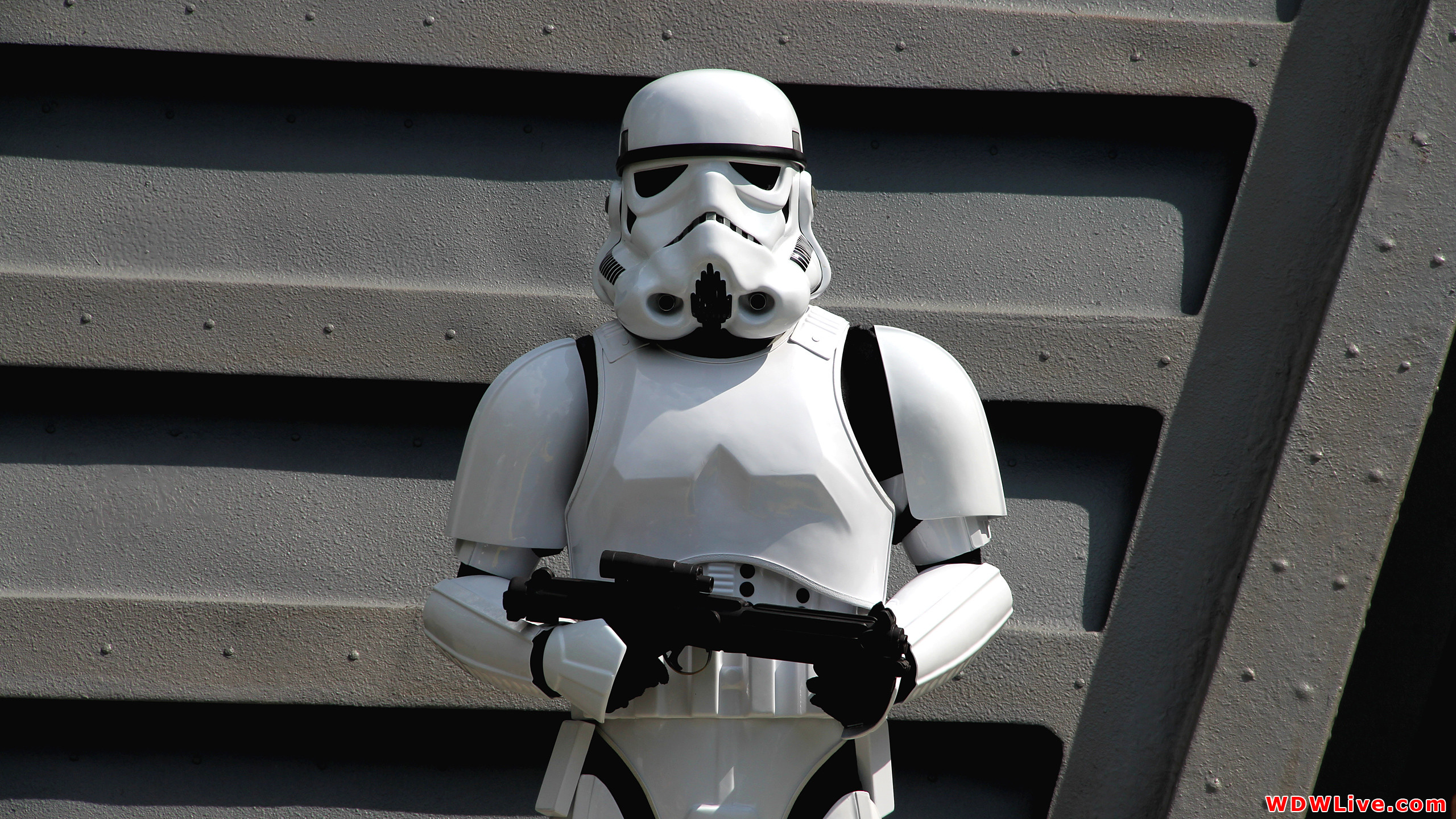 Star Wars: Jedi Training Academy: Imperial Stormtrooper standing guard .