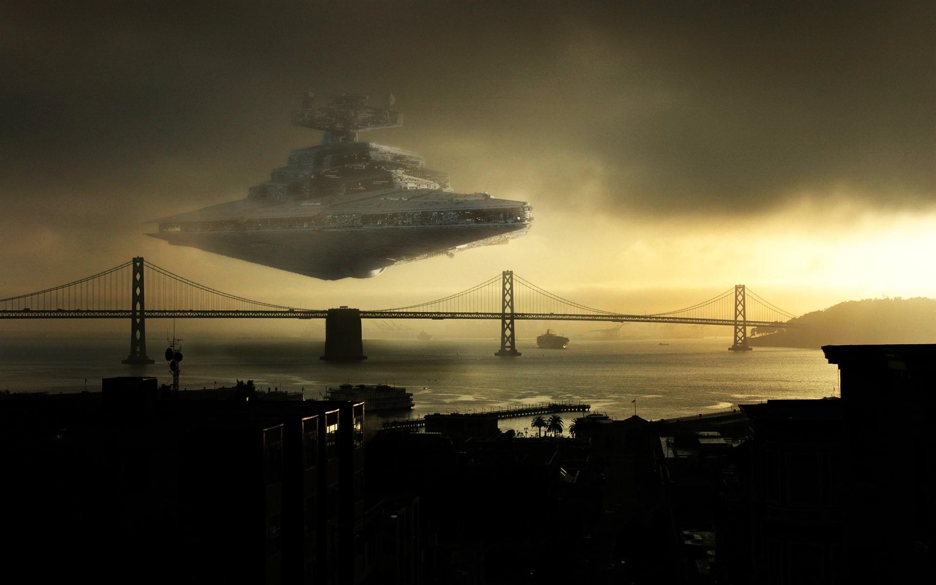 Star Wars, Star Destroyer, San Francisco Wallpapers HD / Desktop and Mobile  Backgrounds