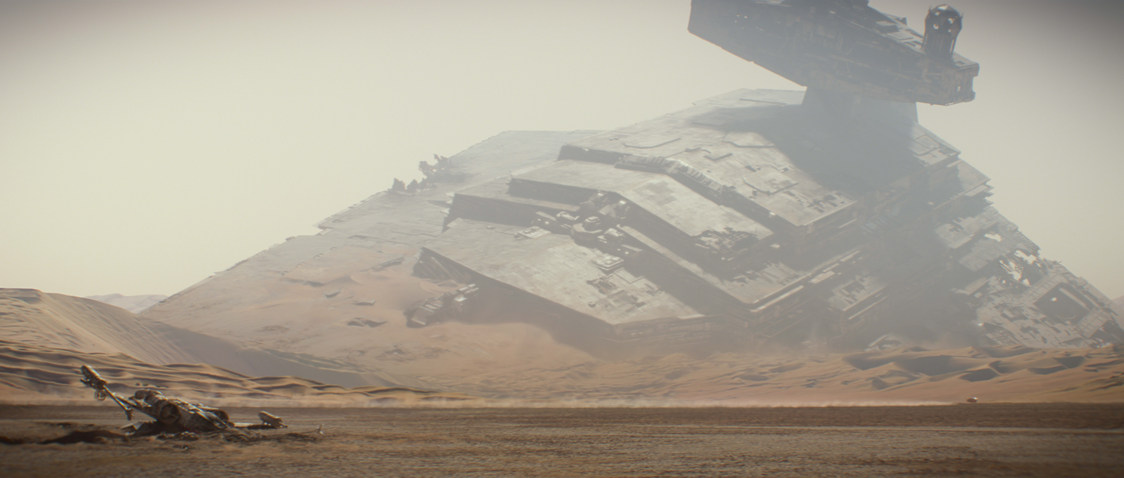 Some further evidence my theory is correct: Star Destroyers are too large  to fit inside car washes. Have you ever seen a white Oldsmobile Cutlass  Ciera go a …