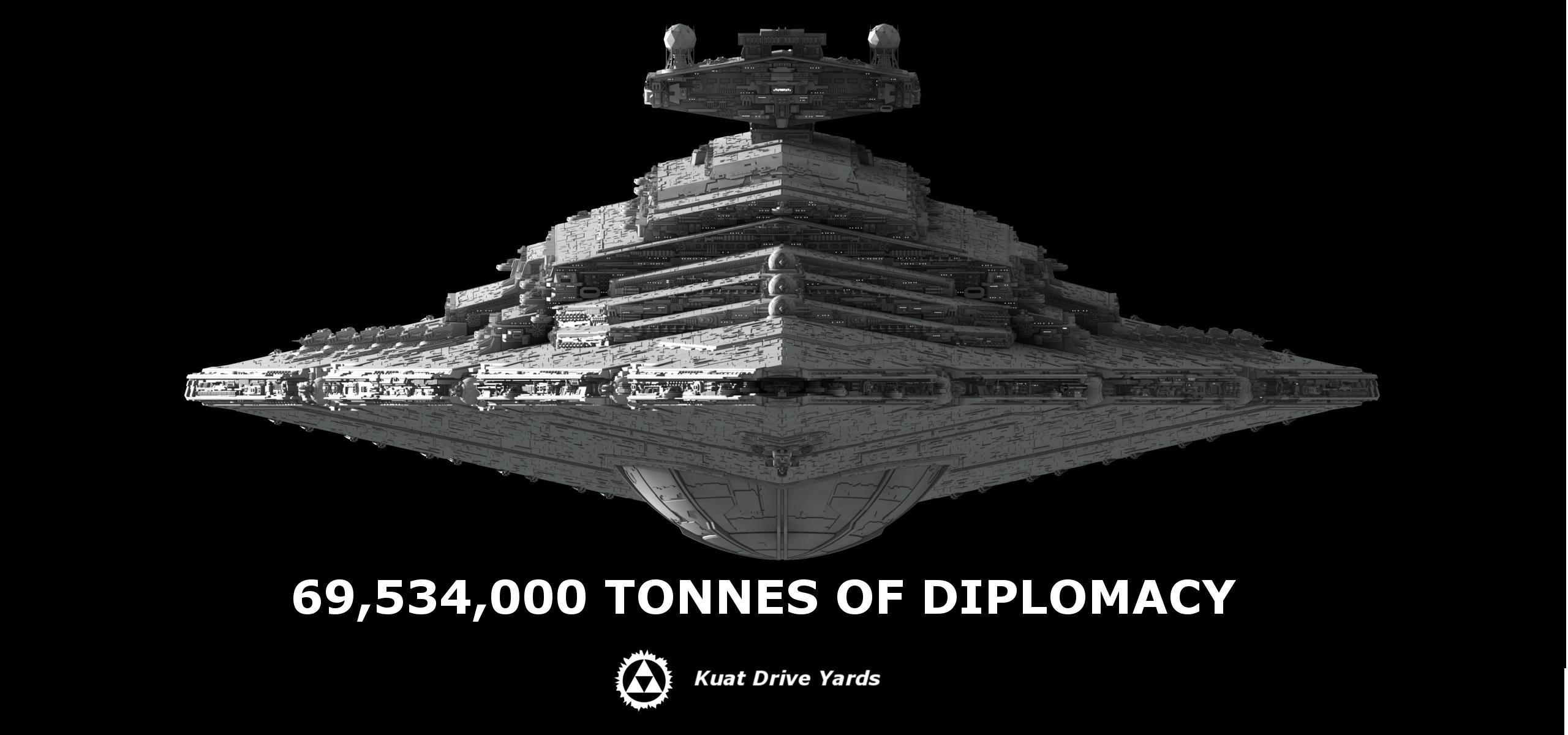 69,534,000 Tonnes of Diplomacy
