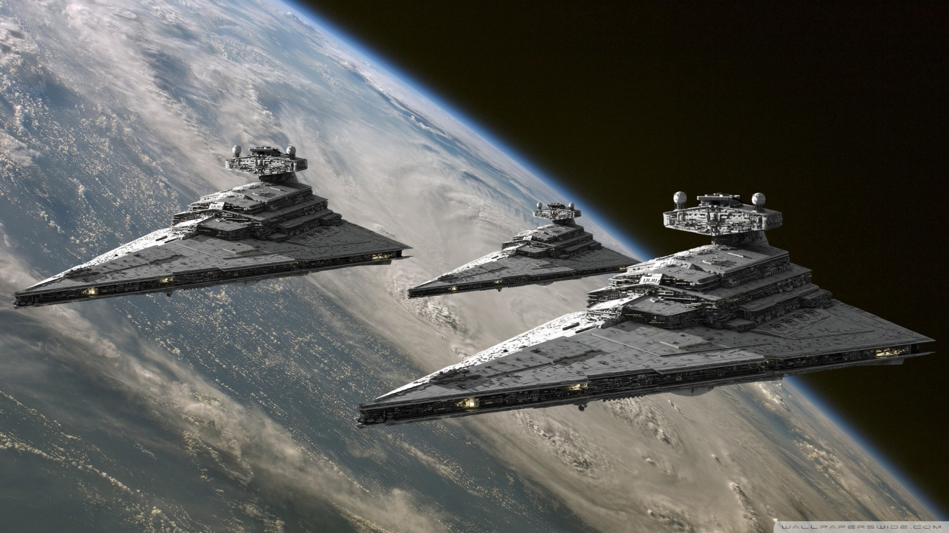 star wars imperial space ships