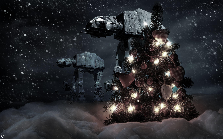 Star Wars Christmas Wallpaper Preview. Desktop · iPad · iPhone · Facebook