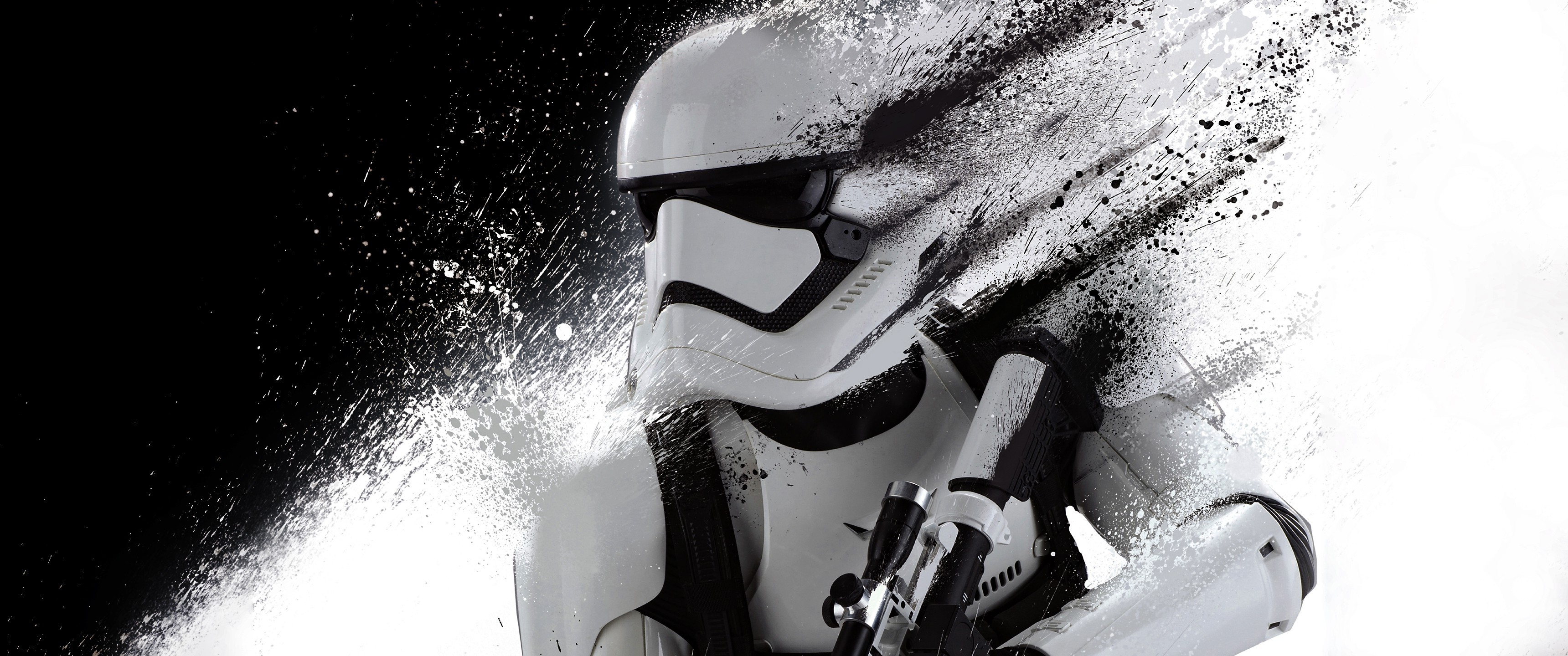 Star Wars, Multiple Display, Dual Monitors, Monochrome, Stormtrooper  Wallpapers HD / Desktop and Mobile Backgrounds
