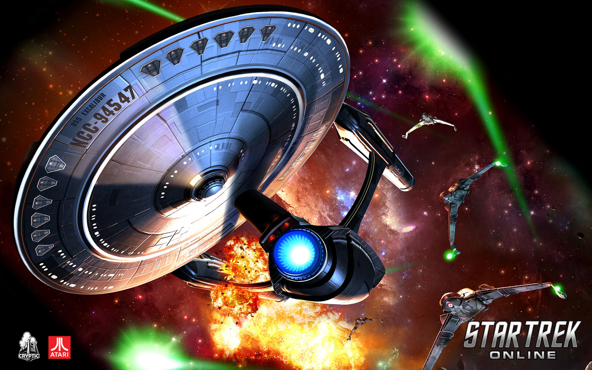 HD Star Trek Online Wallpaper for iPhone, Android, Mobile – 14166 .