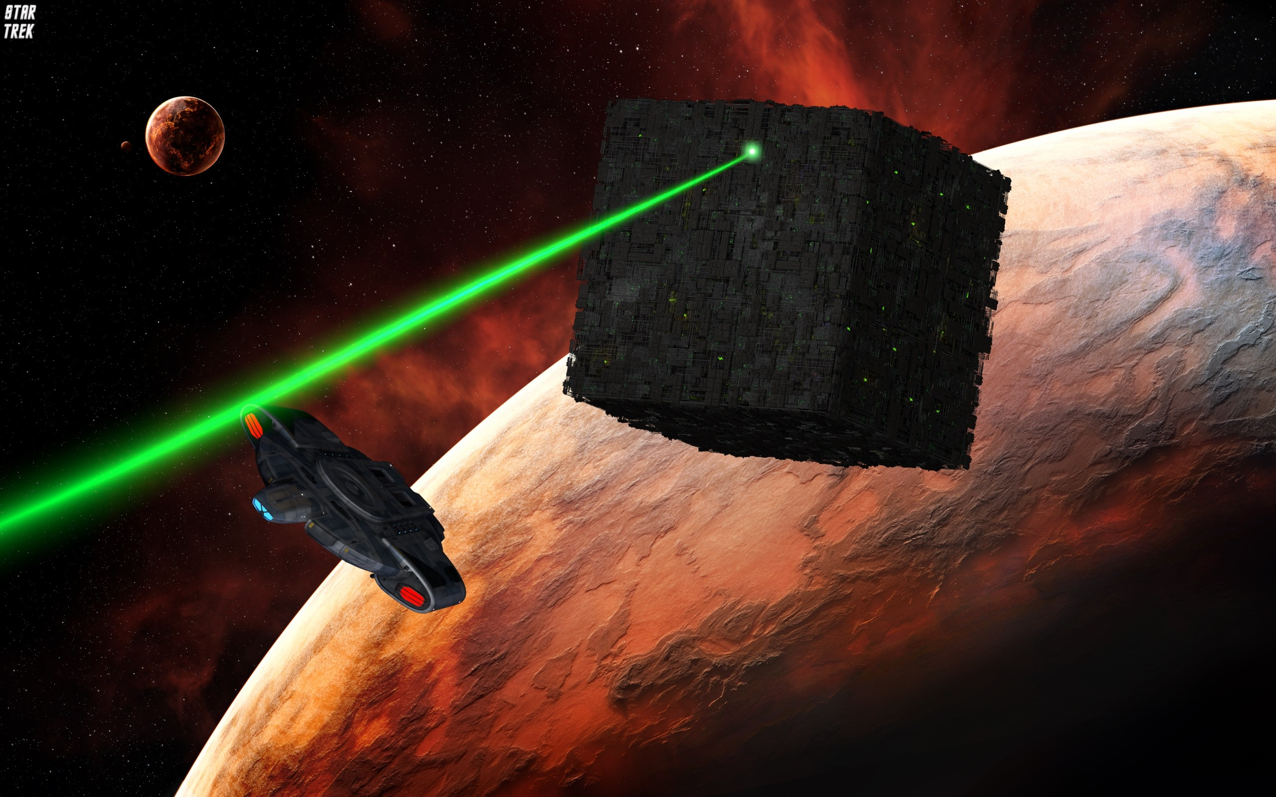 Download Free Borg Star Trek Wallpaper.