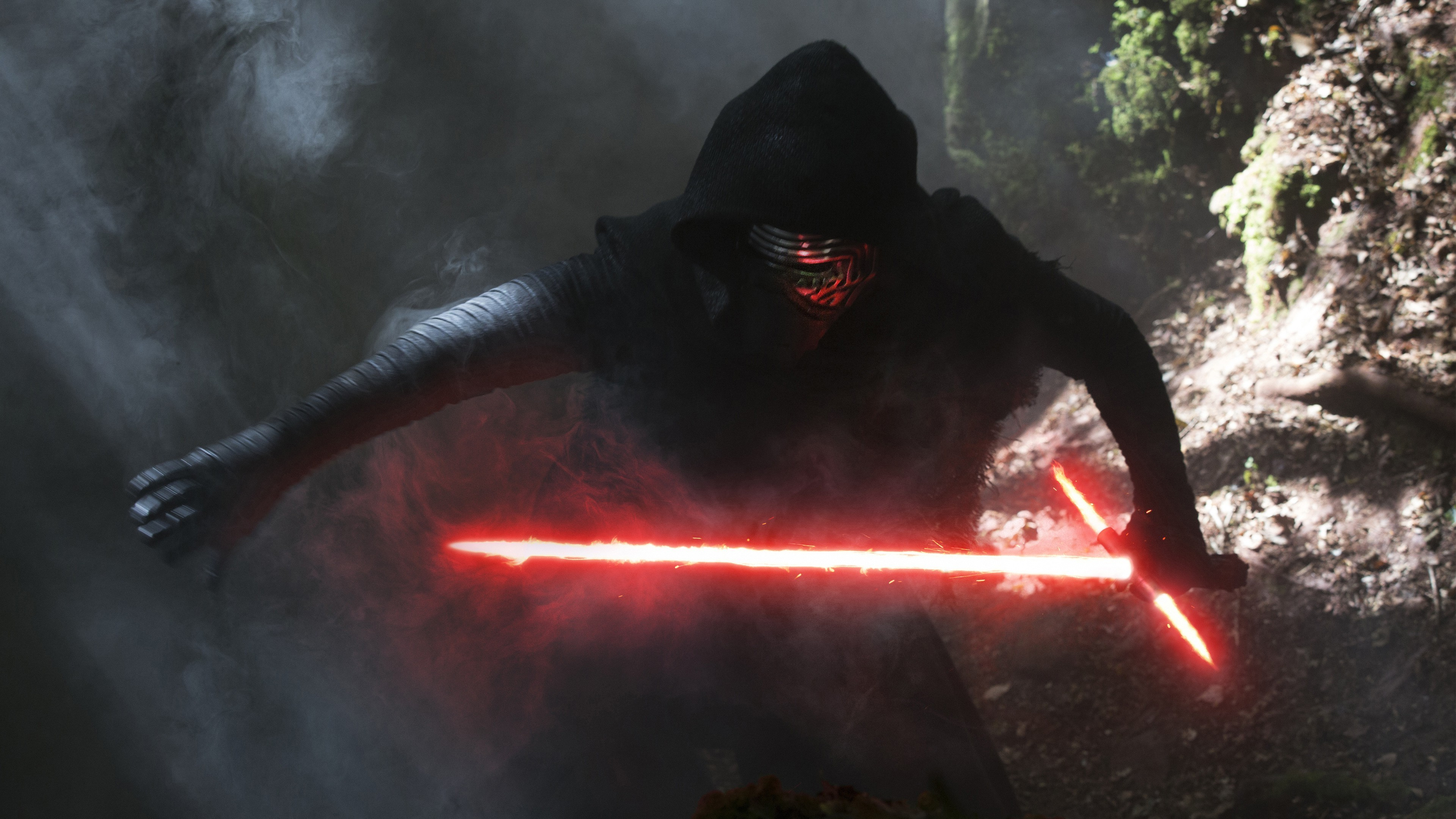 Kylo Ren, Star Wars: The Force Awakens, Lightsaber Wallpapers HD / Desktop  and Mobile Backgrounds