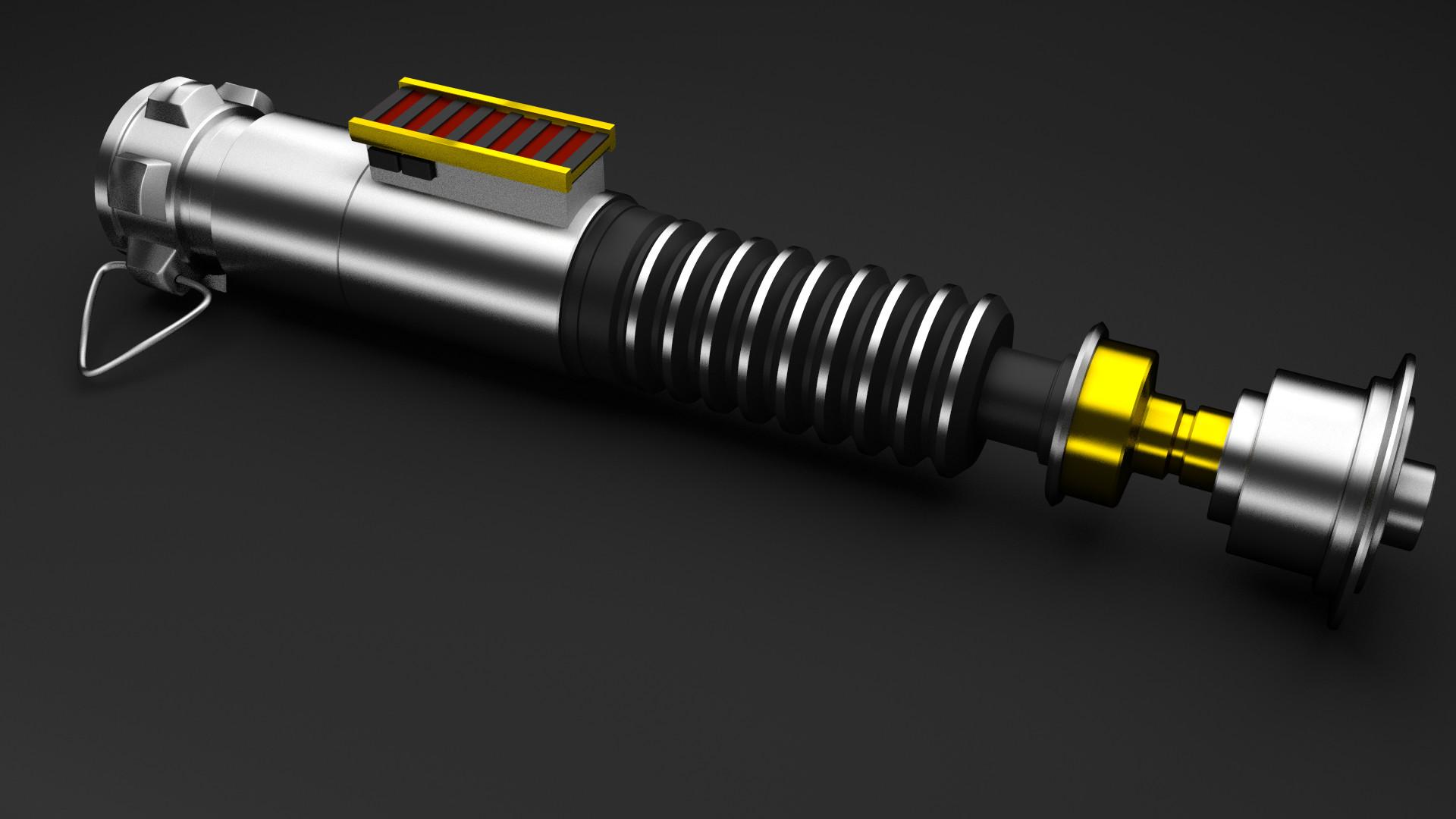 Luke's Lightsaber by RegusMartin Luke's Lightsaber by RegusMartin