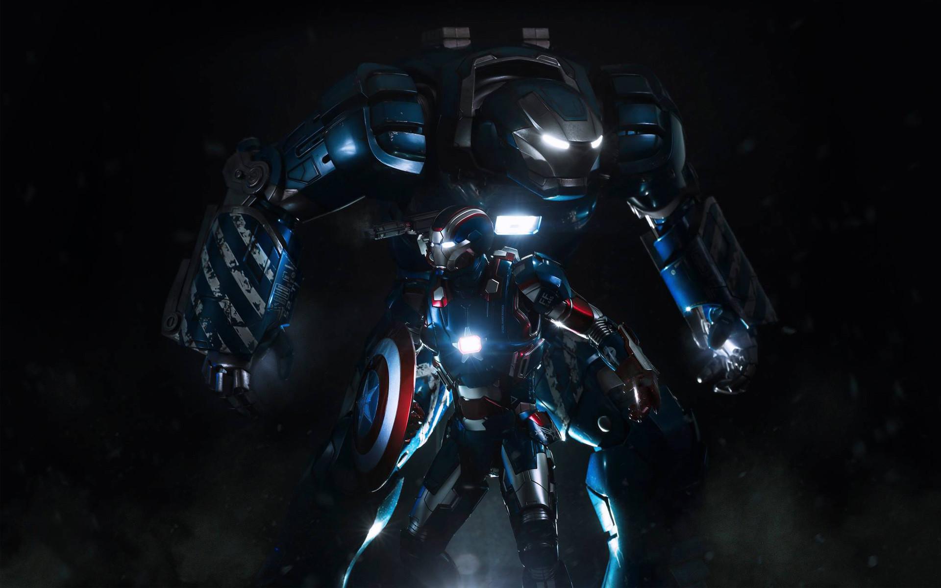 Iron Man Wallpaper » Iron Patriot
