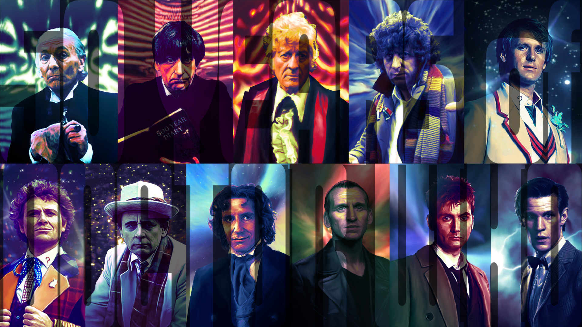 … Doctor Who Wallpaper v2 by Elmic-Toboo