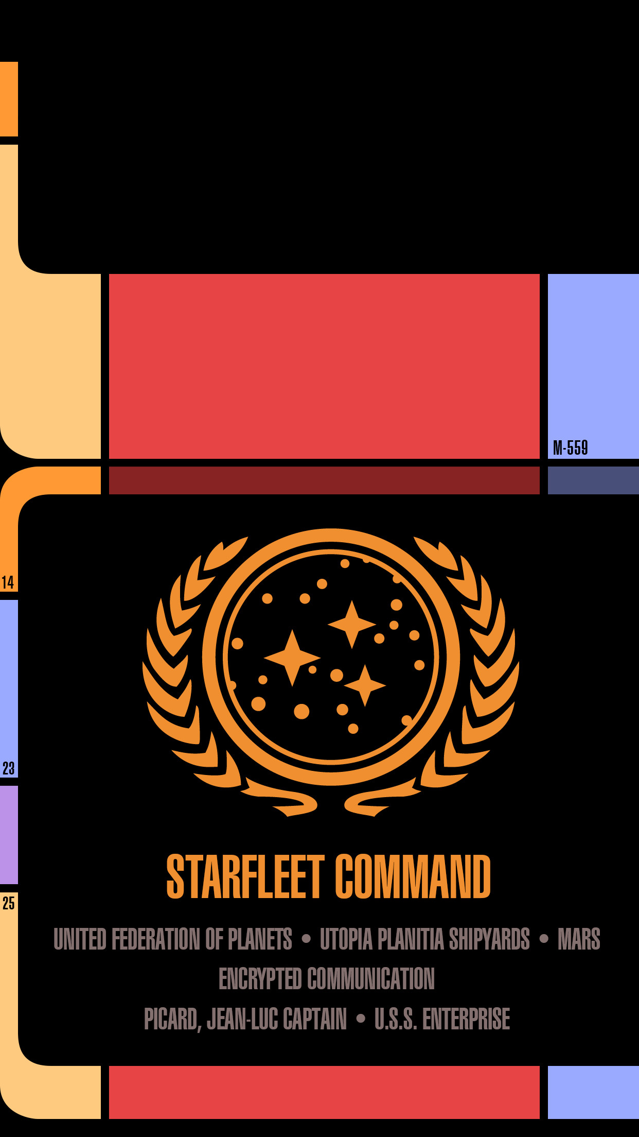 I made a Star Trek LCARS Wallpaper for android phones