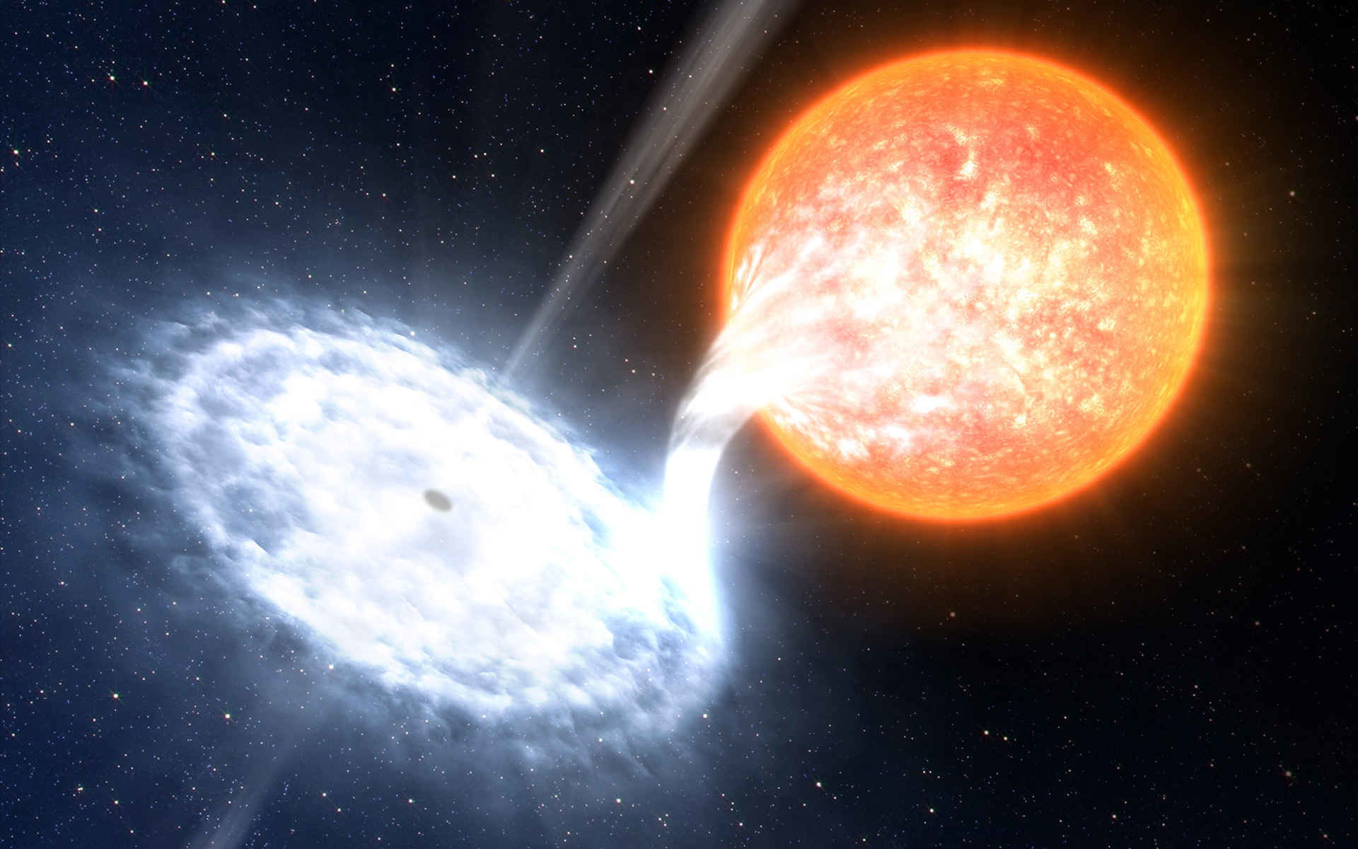 Interstellar Blackhole 2 Wallpaper (2560 x 1080) by ABAthedude .
