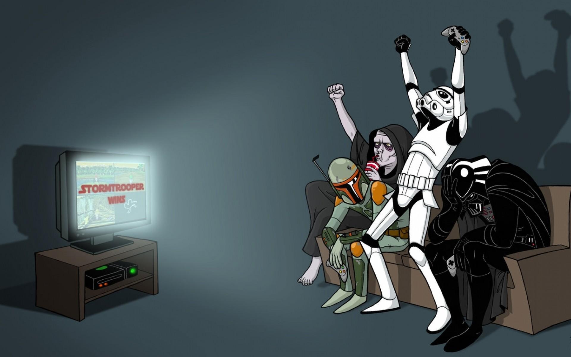 star wars stormtroopers darth vader boba fett bounty hunter darth sidious Wallpaper  HD