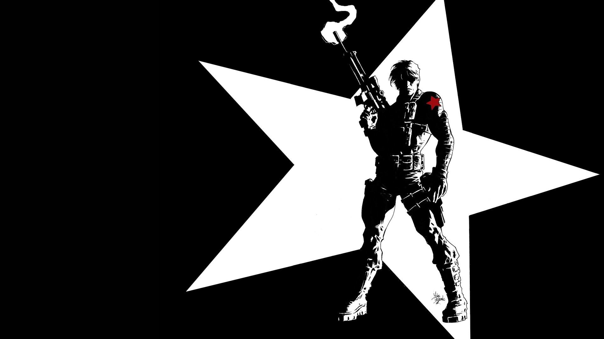 HD Wallpaper   Background ID:372963. Comics Winter Soldier