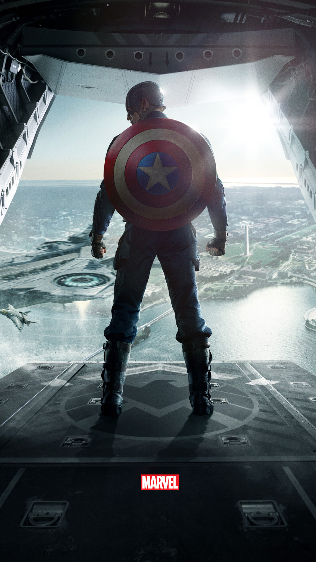 Captain America The Winter Soldier htc one wallpaper