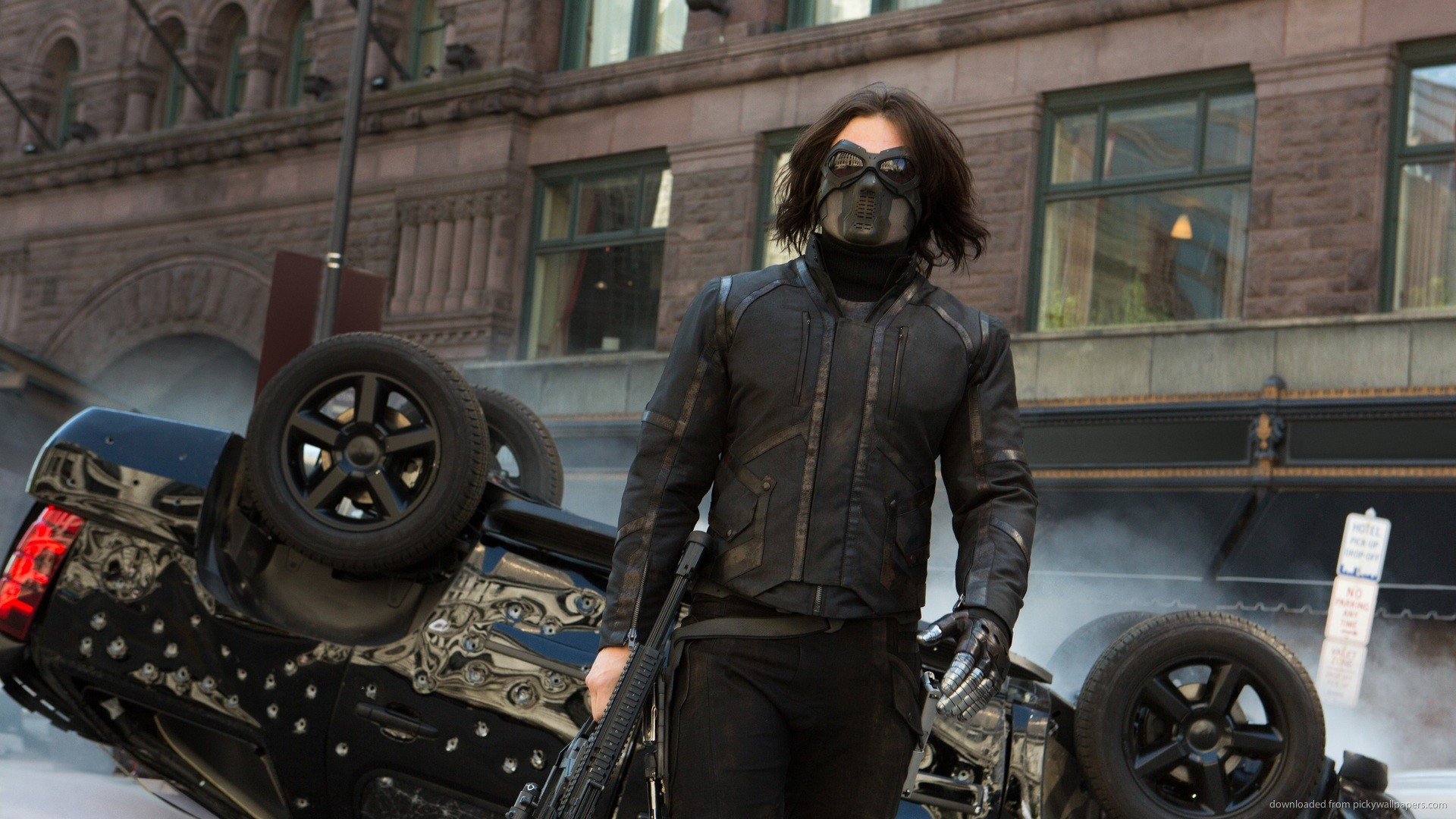 Winter Soldier Walking Away picture