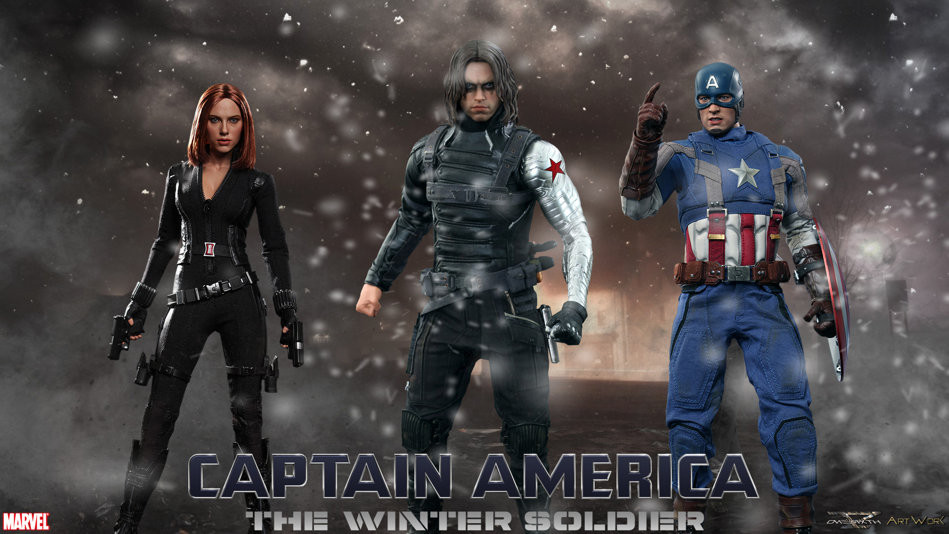 … Winter Soldier – Hot Toys Full HD Wallpaper. Saturday, March 29, 2014