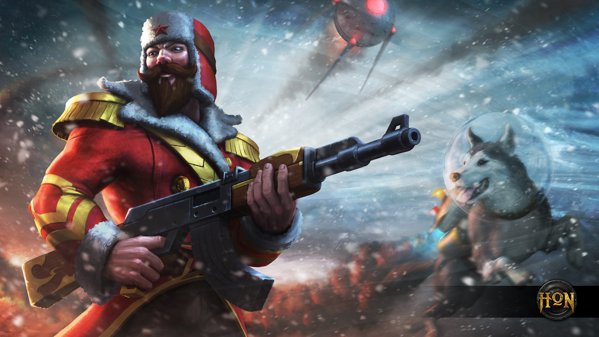 Winter Soldier Klanx Wallpaper