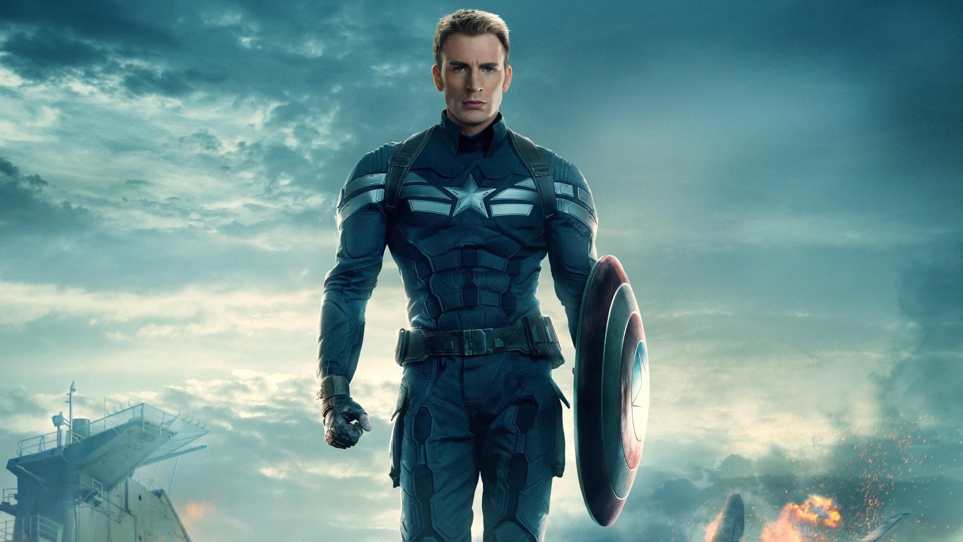 Movie – Captain America: The Winter Soldier Captain America Chris Evans  Wallpaper