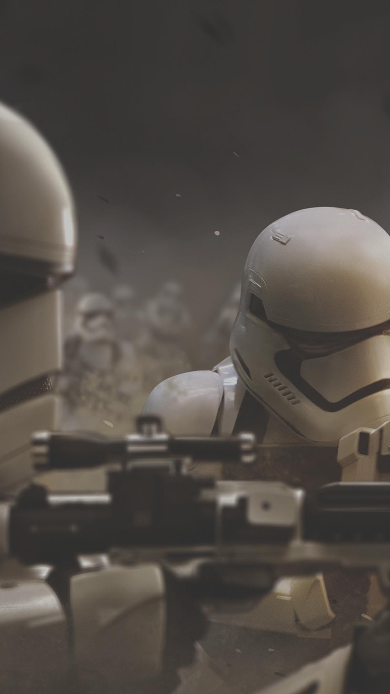 Star Wars The Force Awakens Stormtrooper Wallpaper iDeviceArt