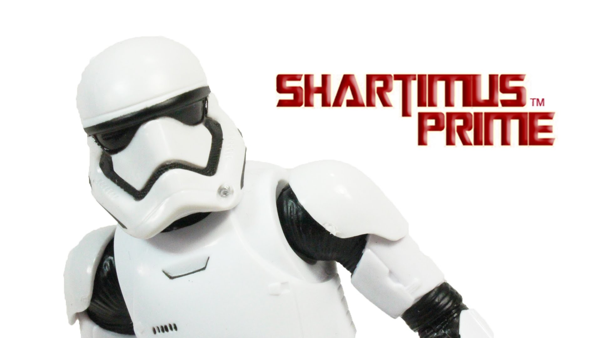 Star Wars Stormtrooper First Order SDCC 2015 The Force Awakens Episode VII  Black Series 6 Inch Toy A – YouTube