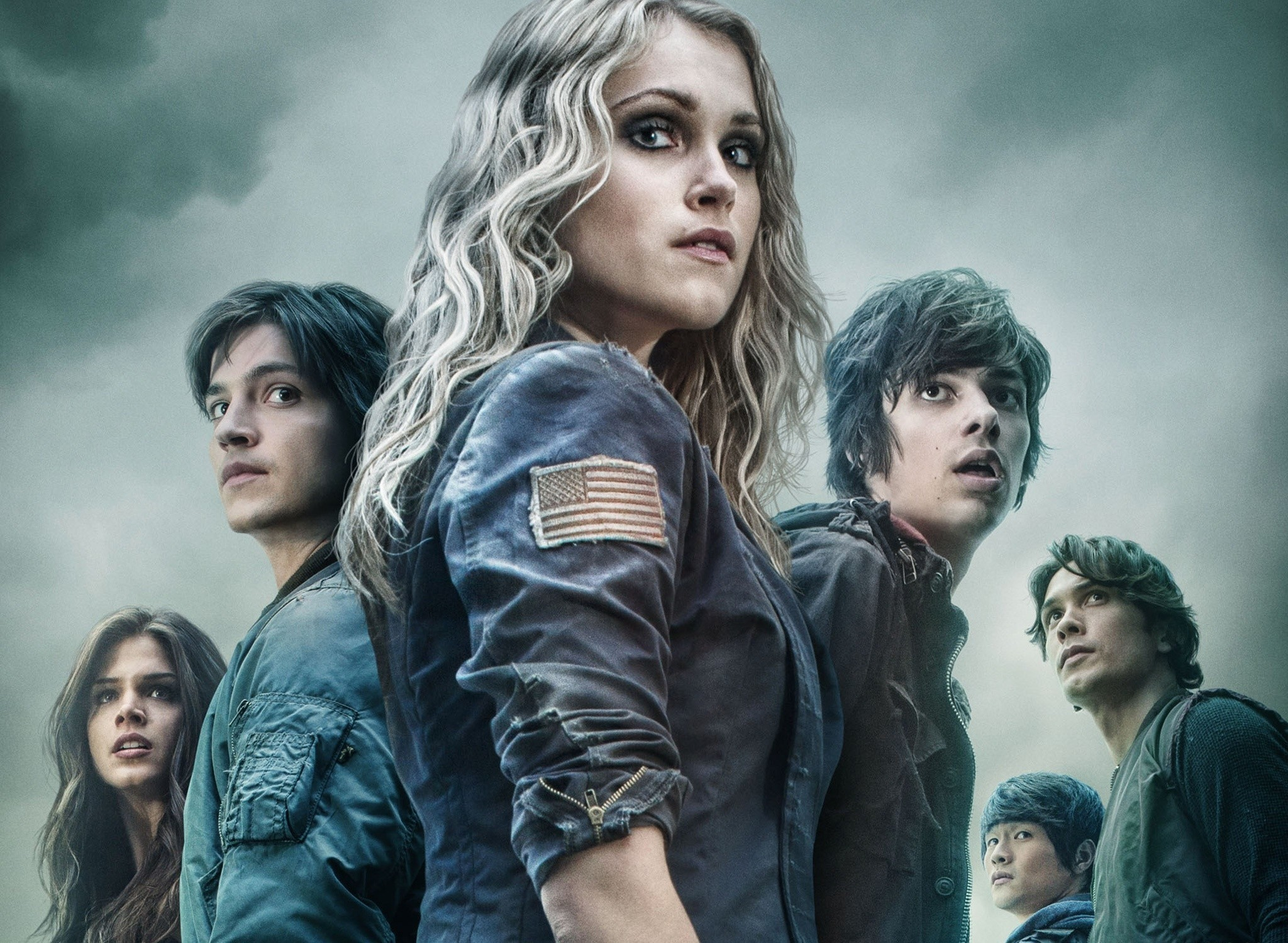 Wallpaper the 100, eliza taylor, marie avgeropoulos, bobby  morley, henry ian