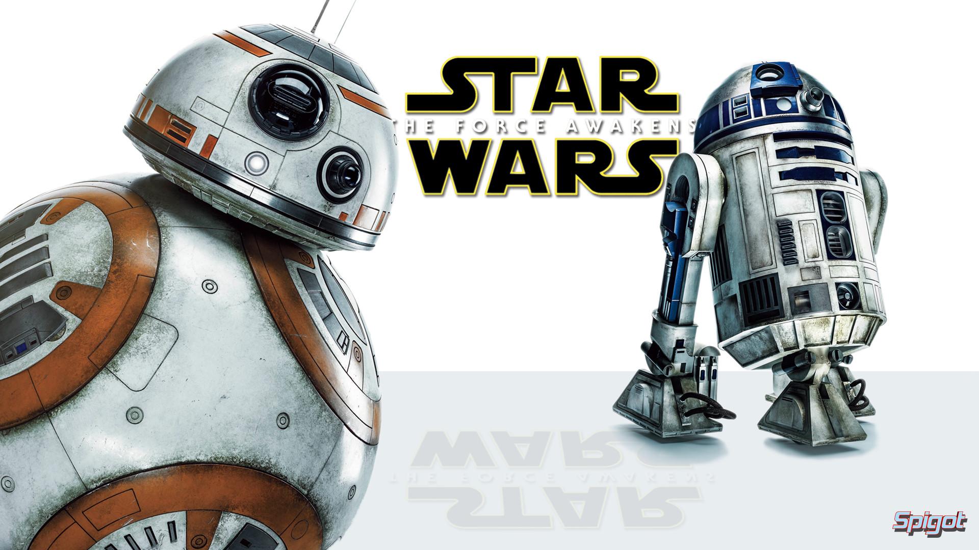 Movie – Star Wars Episode VII: The Force Awakens BB-8 R2-D2