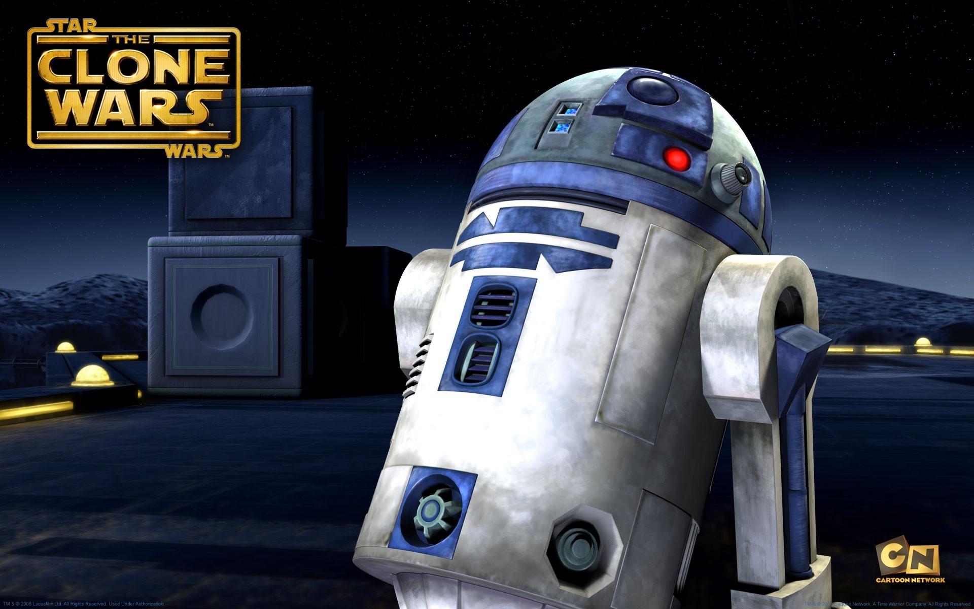 TV Show – Star Wars: The Clone Wars Star Wars Cartoon Robot R2-D2