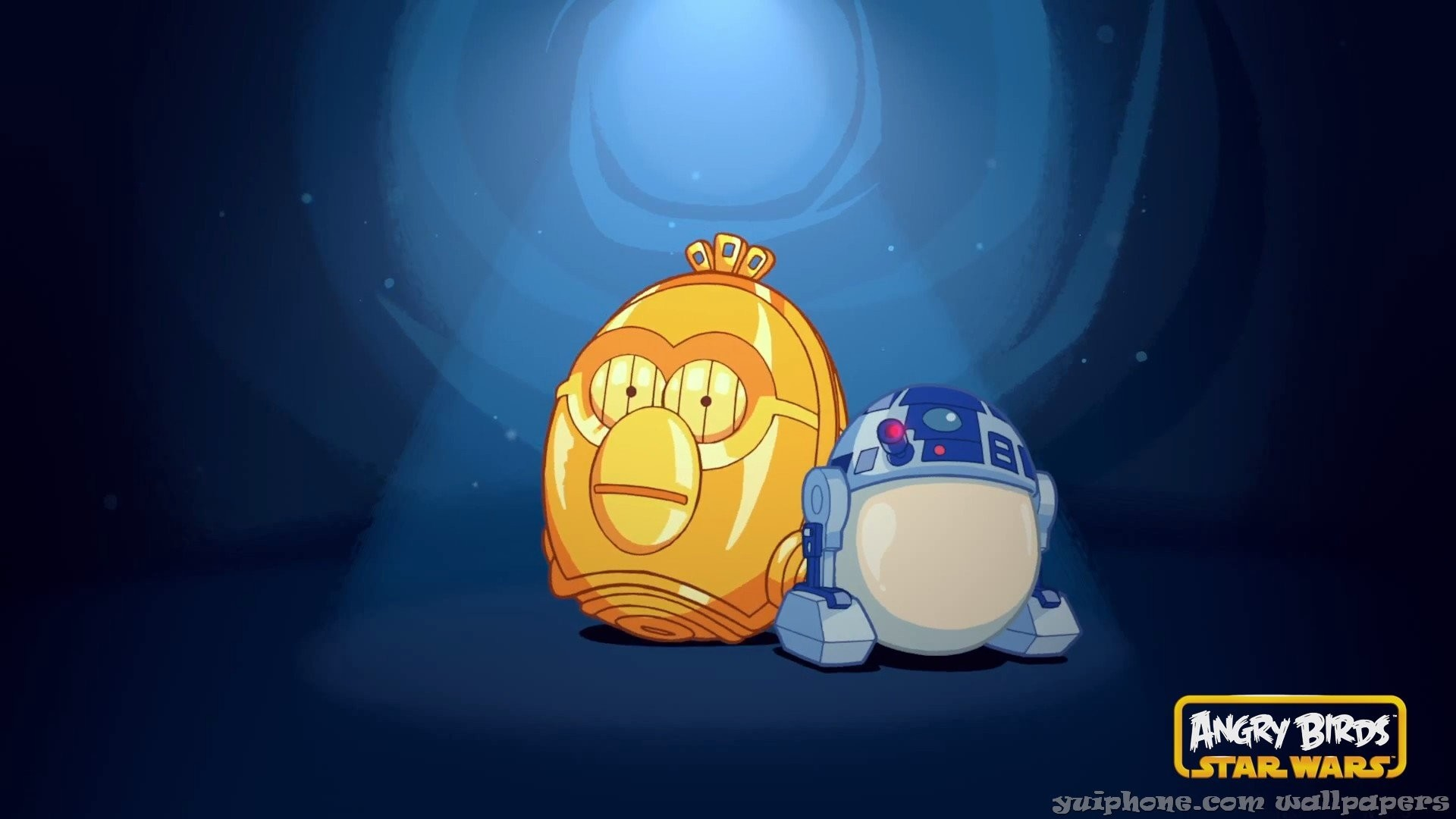 Angry Birds Star Wars R2D2 …