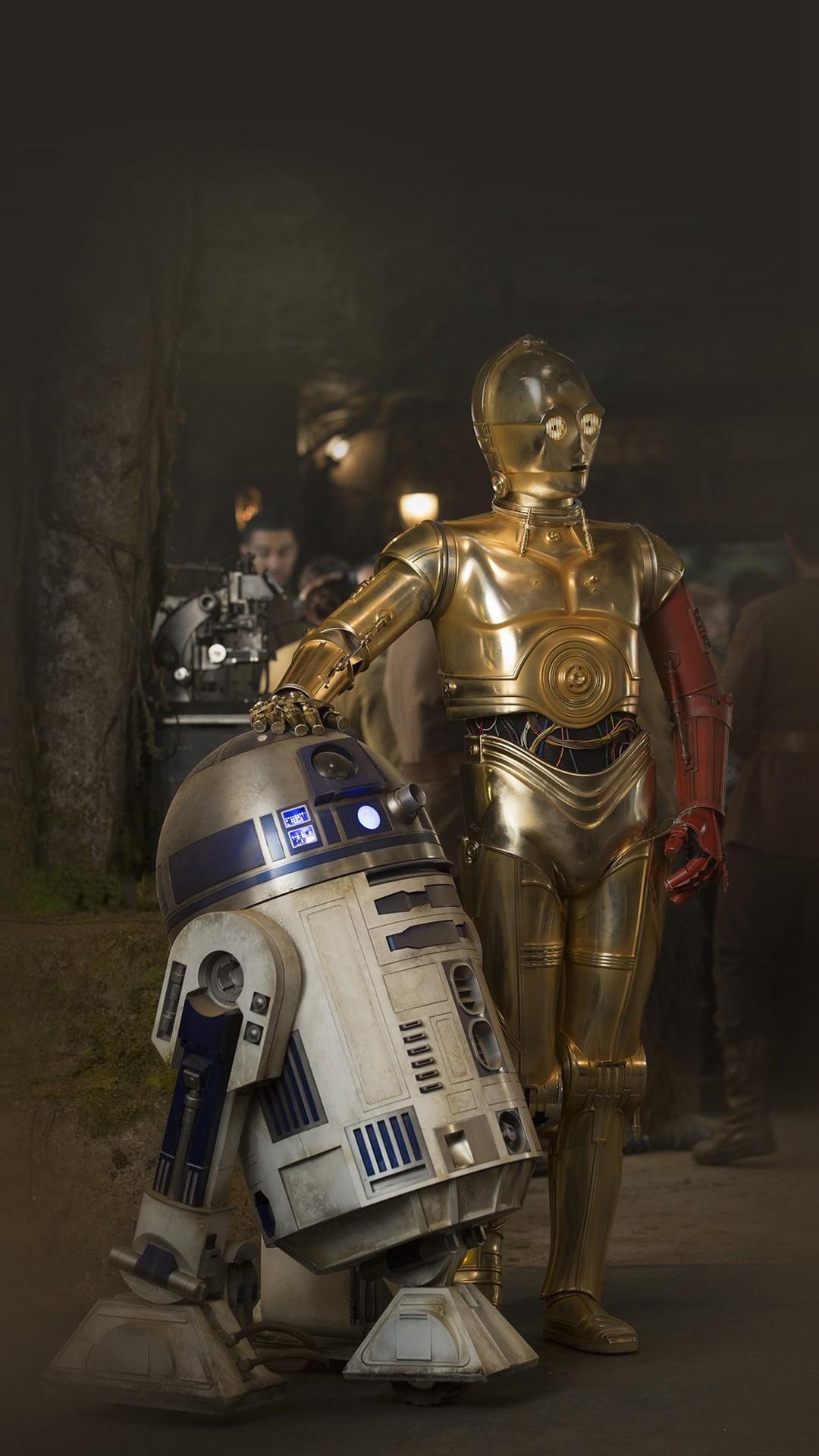 Starwars R2 D2 Robot Film Art iPhone 8 wallpaper