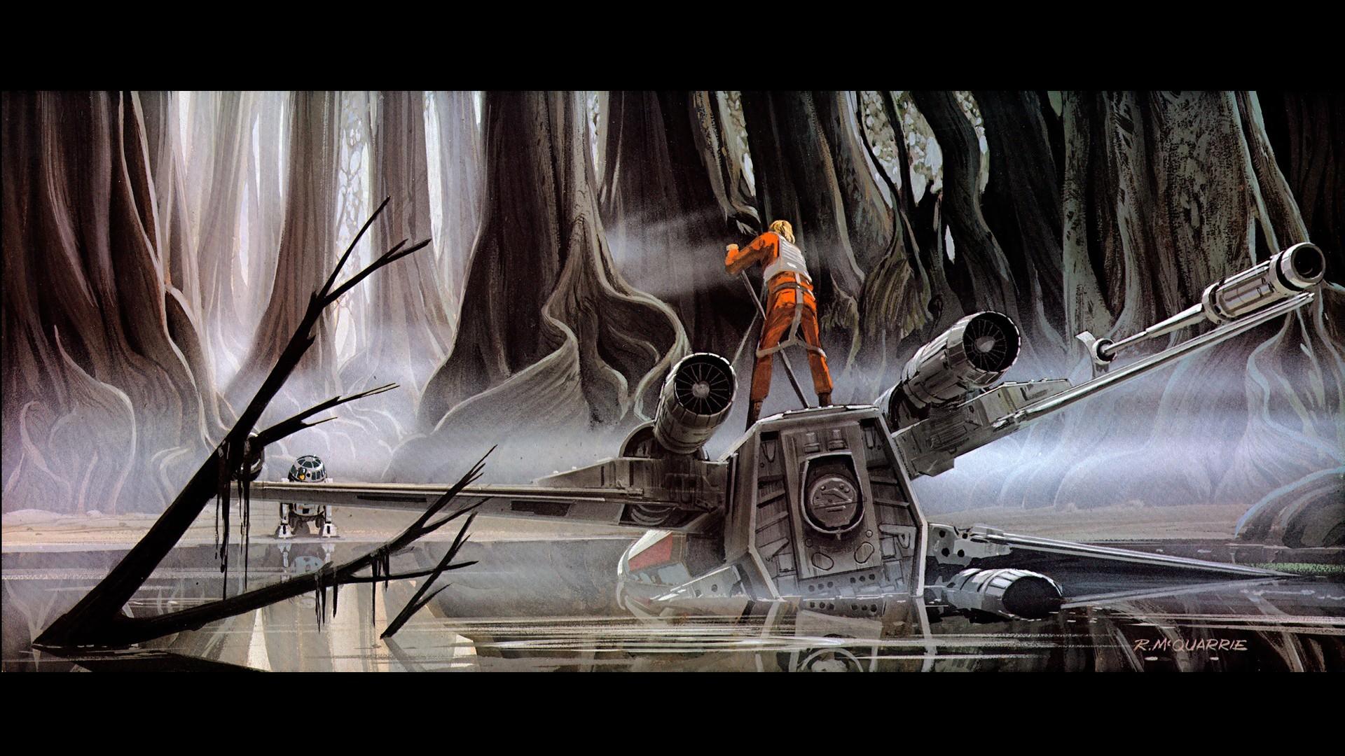 Comics Luke Skywalker R2D2 Star Fighters Wars