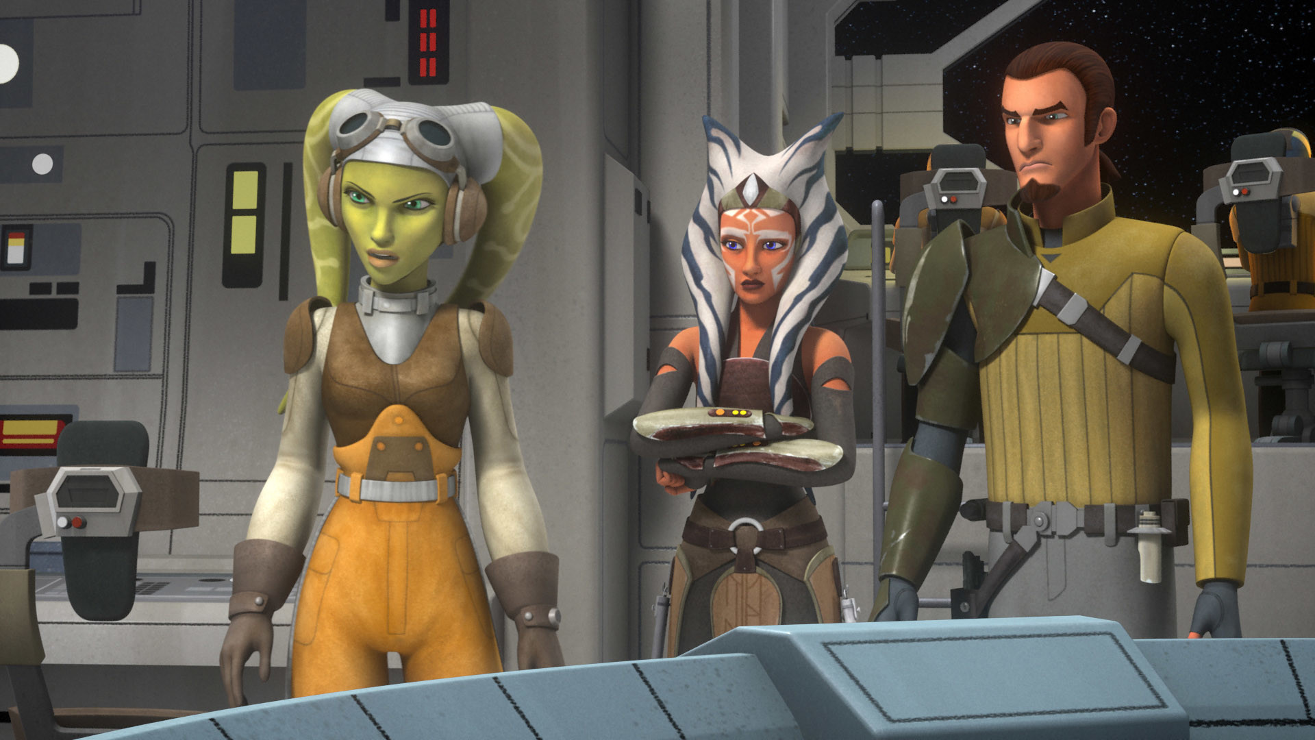 Rebels T.V. series. It's like clone wars only the animation feels less  natural and the