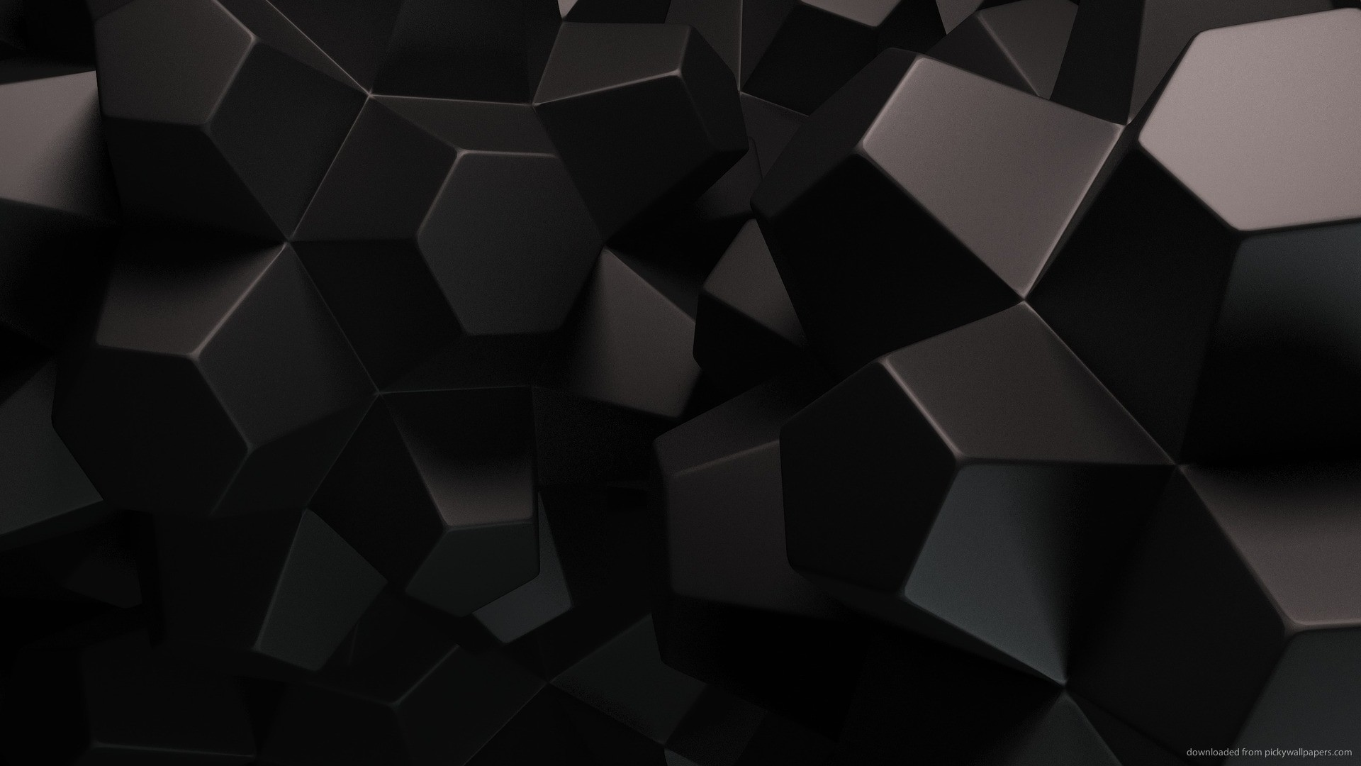 Dark Polygonal Objects picture