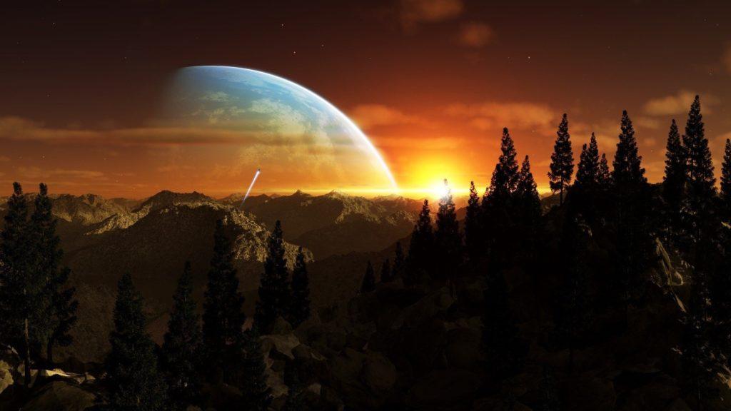 Alien Planet Wallpaper