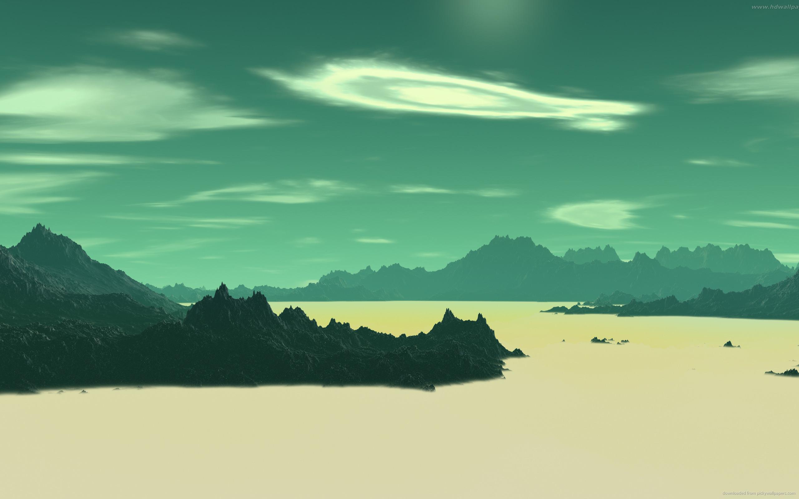 Sci-fi landscapes alien planetscape wallpaper | | 118295 |  WallpaperUP