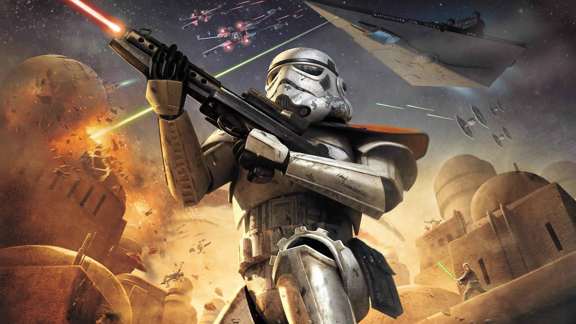 digital Art, Star Wars, Star Wars: Battlefront, Video Games, Stormtrooper  Wallpapers HD / Desktop and Mobile Backgrounds
