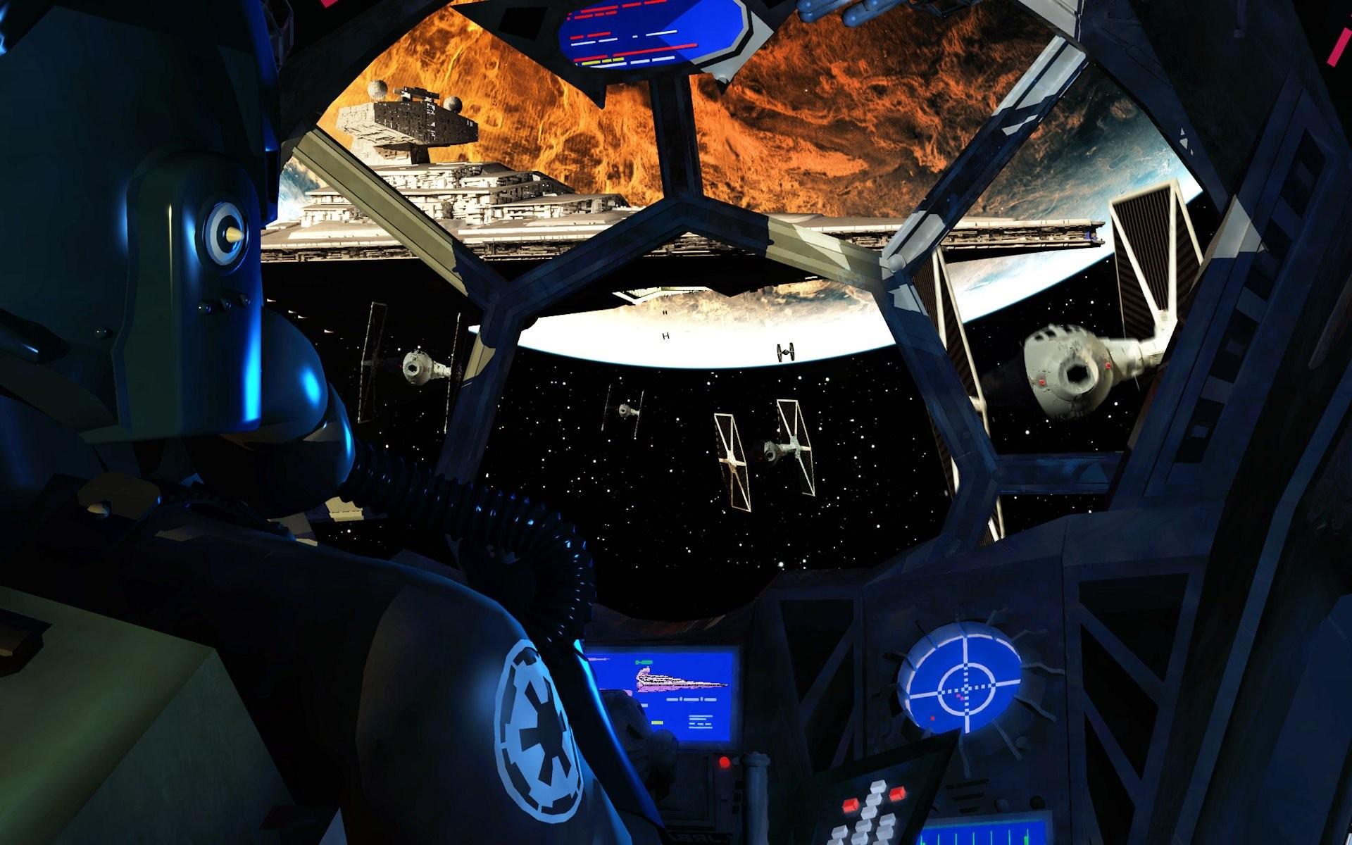 Tie Fighter Cockpit