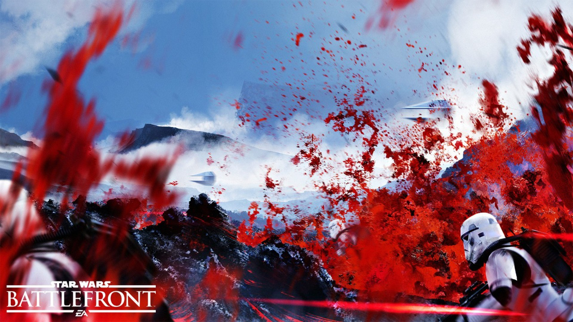 Star Wars: Battlefront, Star Wars, EA Games, Dice, Lava, TIE Fighter  Wallpapers HD / Desktop and Mobile Backgrounds