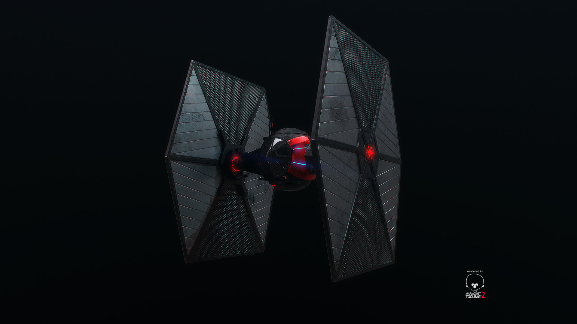 Tie-fighter – Turntable