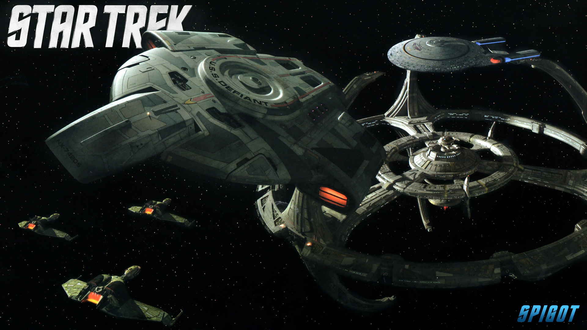 Star Trek Ships Wallpapers. June 8, 2012. Here are some of the …