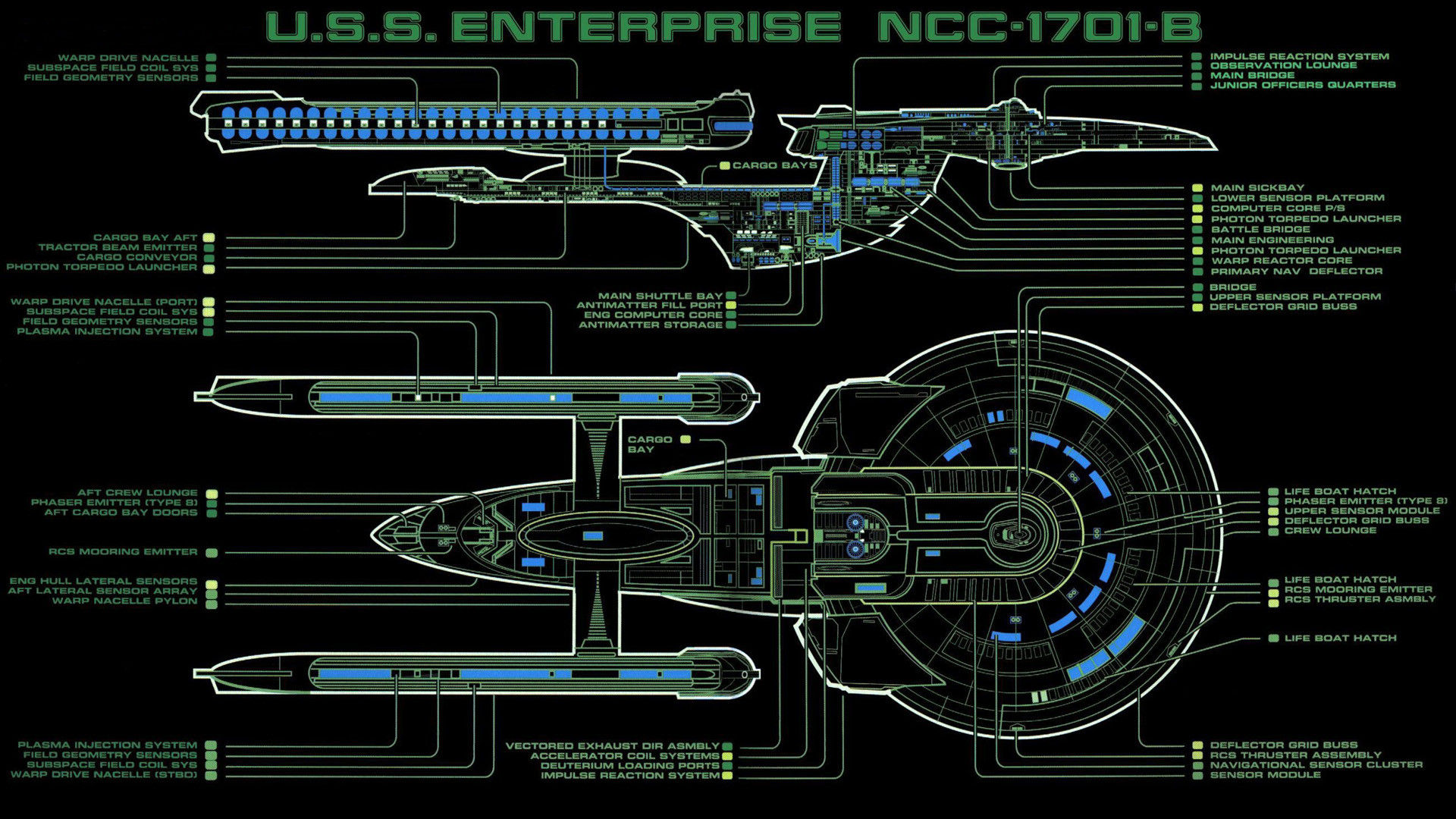 Star Trek – A Gallery By: ApolloSerenus – Wallpaper Abyss. Related news: Star  Trek The Next Generation …