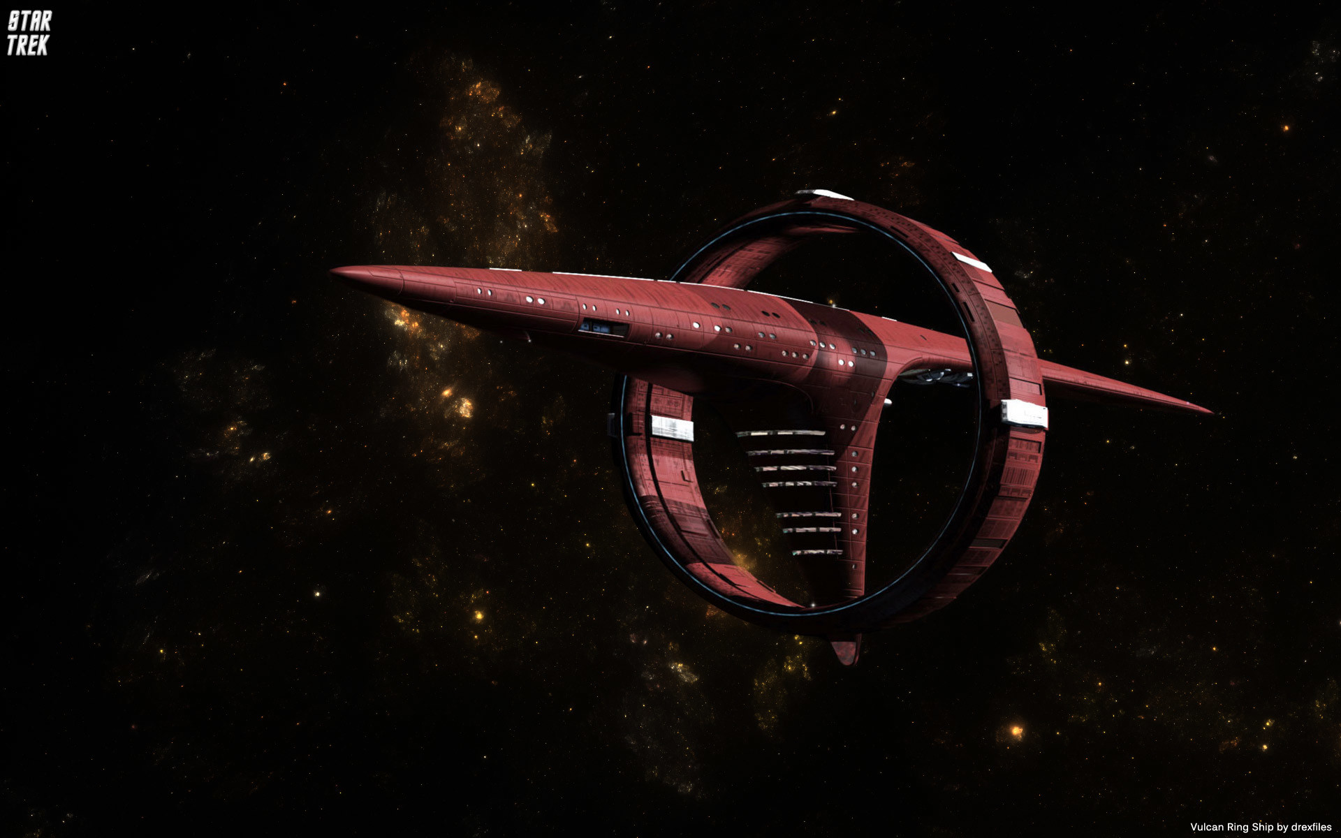 Star Trek Vulcan Ships wallpaper – 910851