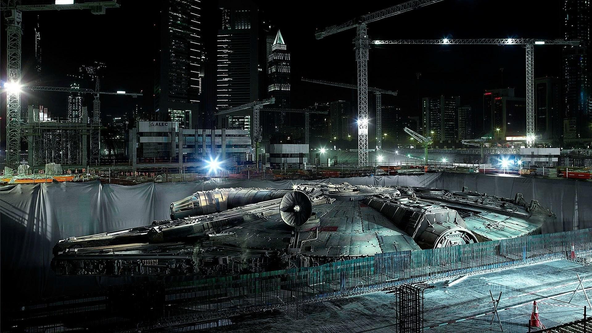 Millennium Falcon Star Wars · HD Wallpaper | Background ID:245977