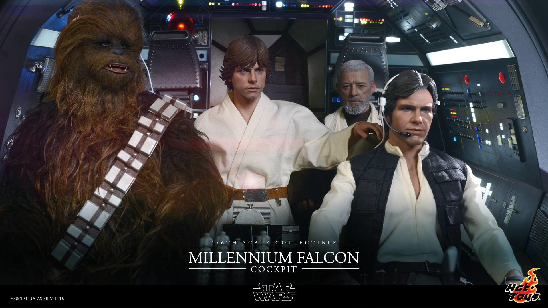 [SDCC'15] Hot Toys gets even bigger with 1/6th scale Millennium Falcon  cockpit — Major Spoilers—Comic Book Reviews, News, Previews, and Podcasts