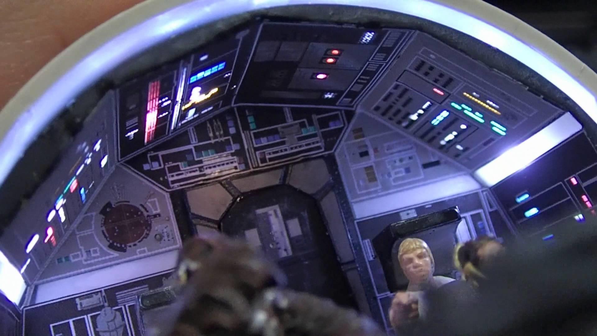 DeAgostini Build Millennium Falcon ParaGrafix Cockpit Photoetch Set –  YouTube