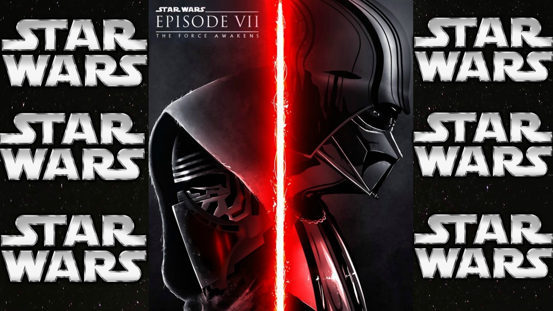 Kylo Ren, Darth Vader Cartoon – HD Background (No.23)