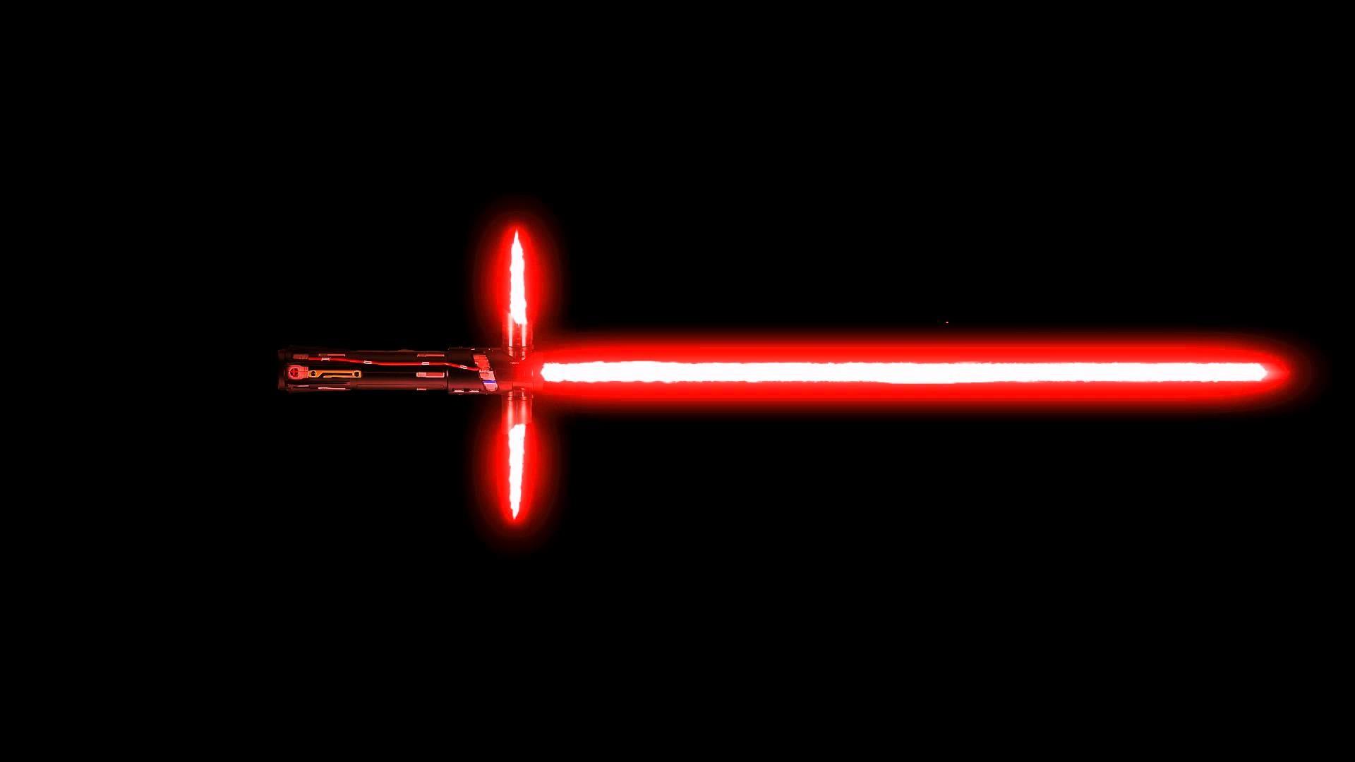 Kylo Ren style Lightsaber Effect Test