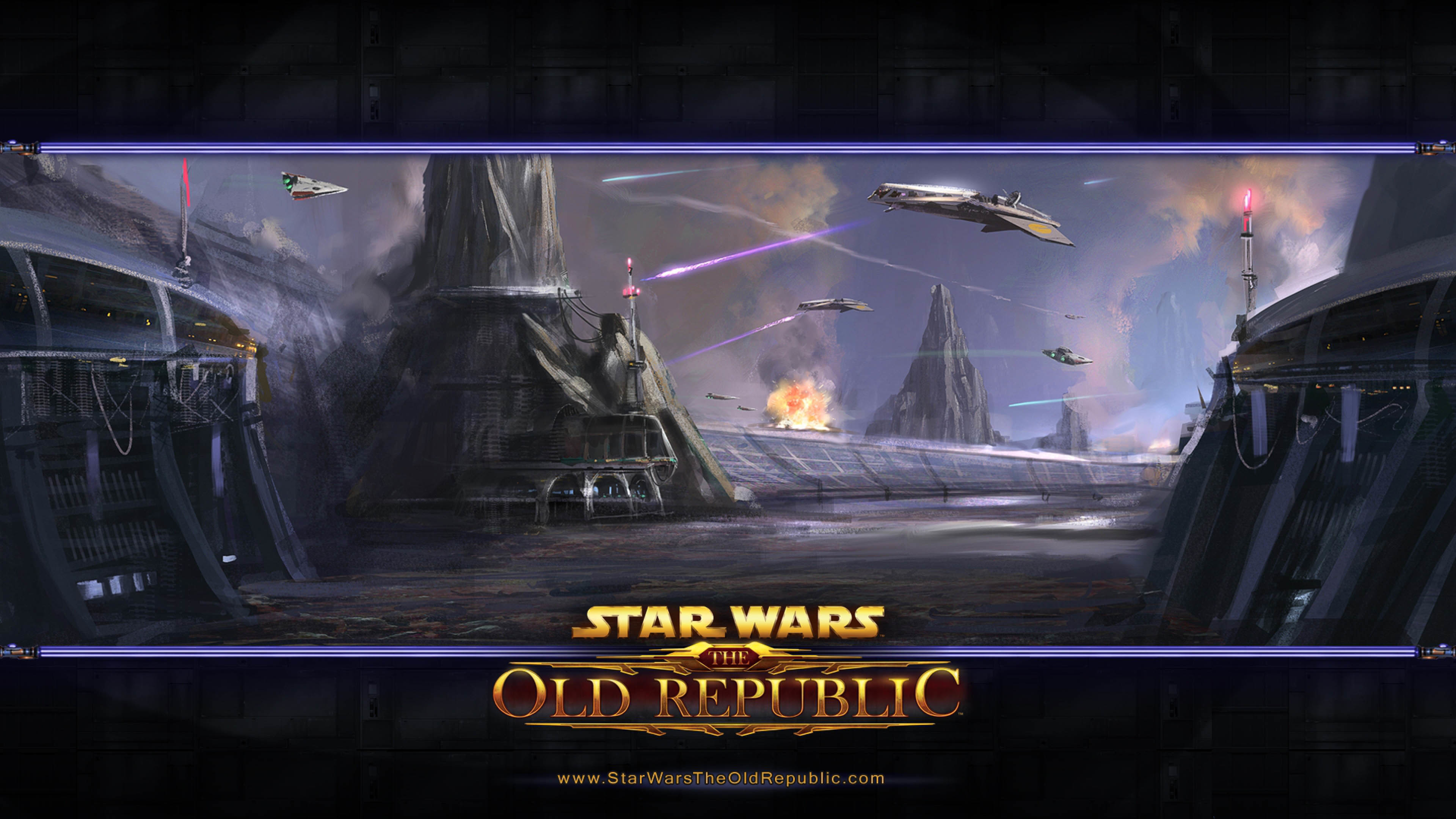Star Wars: The Old Republic – Landscape Artwork wallpaper