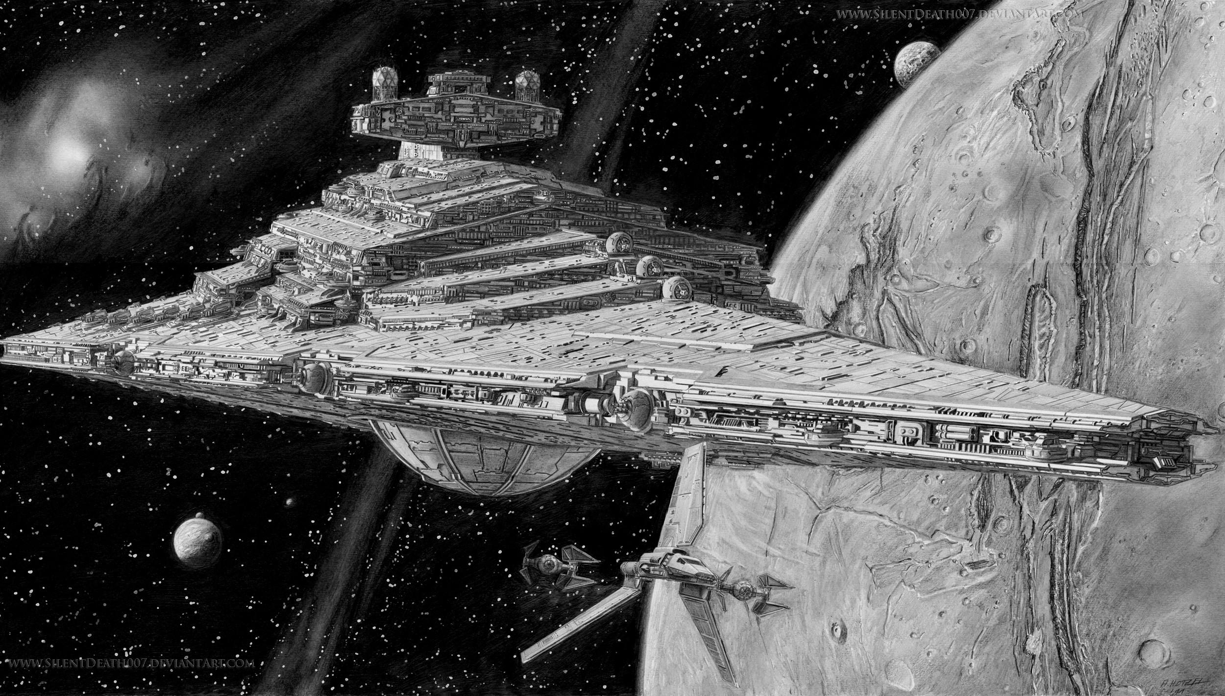 Awesome Star Destroyer Illustration