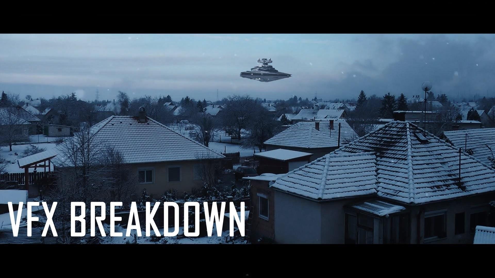 Star Destroyers VFX breakdown