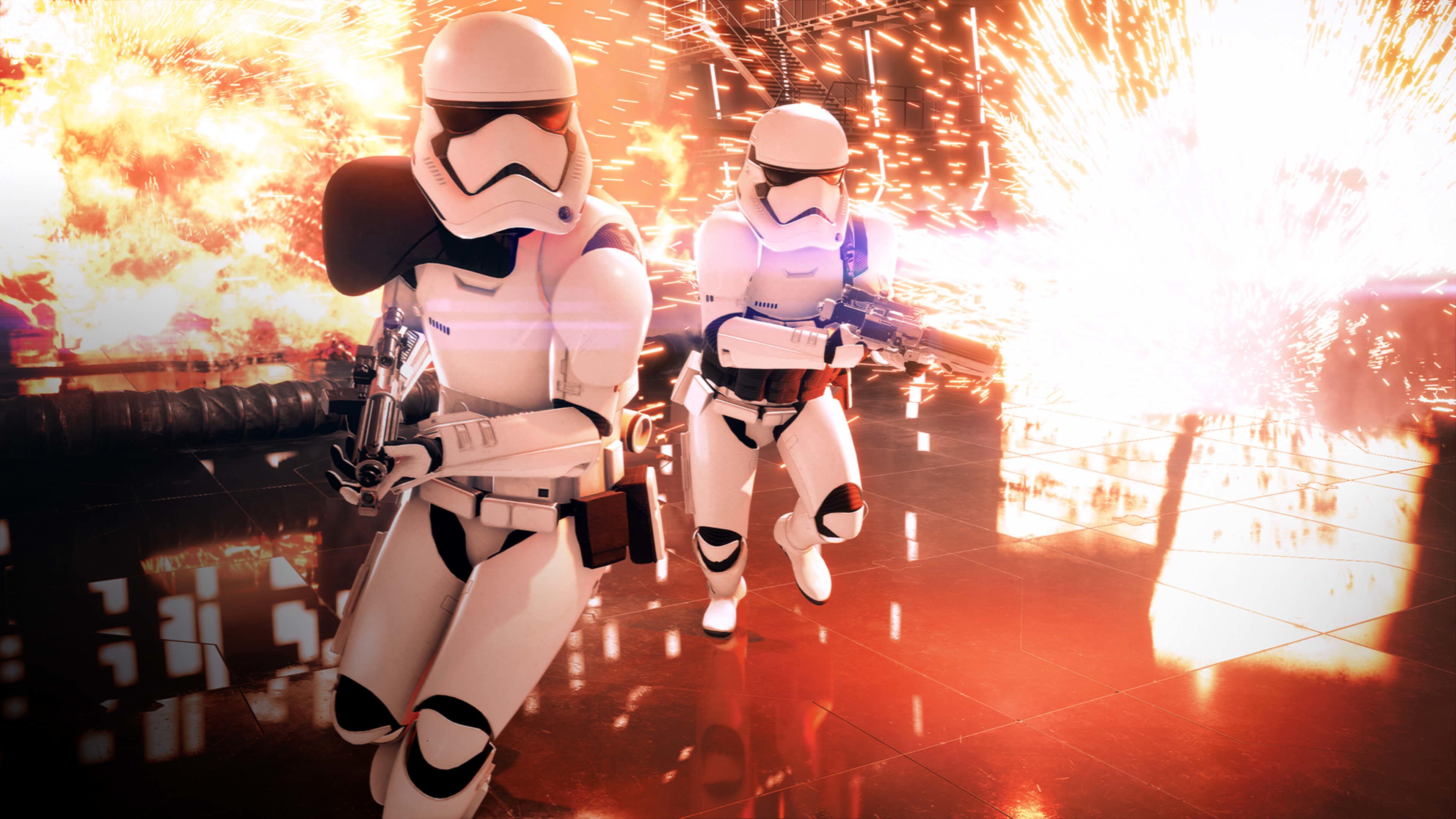 … Last Jedi Wallpaper 'Rey and Kylo' · Star Wars EA Battlefront 2 Wallpaper  HD …